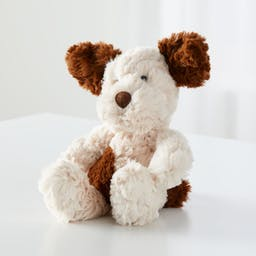 Jellycat ® White Squiggle Puppy
