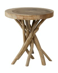 Liberte Round Side Table Natural