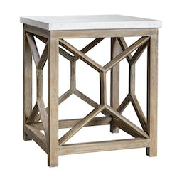 Catali Stone End Table Natural