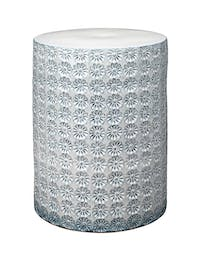 Wildflower Side Table White/Grey