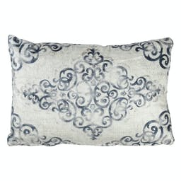 Distressed Motif Pillow - Down Filled