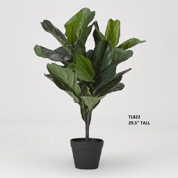 """29.5"""" Real Touch Fiddle Leaf Fig Plant"""