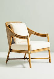 Linwood Lounge Chair, White