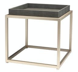 Stanley Square Side Table Grey