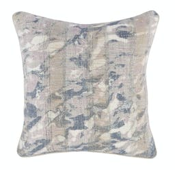 Keyla Embroidered Square Pillow Purple