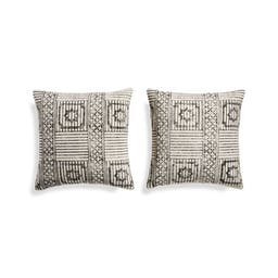 """Ines Pillows 20"""", Set of 2"""