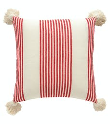 Umph Square Pillow/ Red