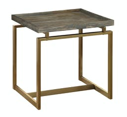 Acton Side Table Brown