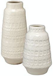 Coco Vessels (Set of 2) White
