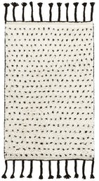 Speck Black Hand Knotted Wool Rug, 8' x 10'