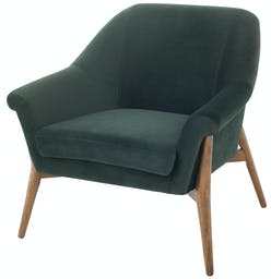 Charlize Accent Chair Emerald Green