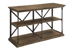 Lawrence Media Console Brown