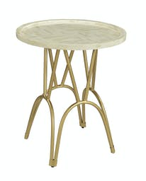 Bethel Round Accent Table