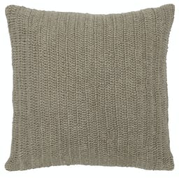 Xyla Knitted Throw Pillow Natural