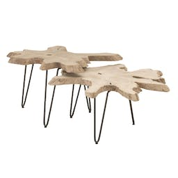 Lincoln Nesting Coffee Table Gray