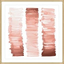 Ombre Rose Wall Art