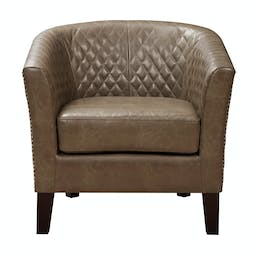 Tolland Accent Chair Mink Brown