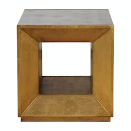 Flair Cube Table Gold