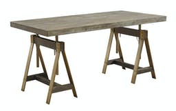 Acton Adjustable Dining Table / Desk Brown
