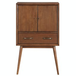 Anthea Wine Cabinet Brown