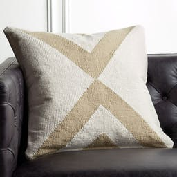 """23"""" Xbase Natural Tonal Pillow with Down-Alternative Insert"""