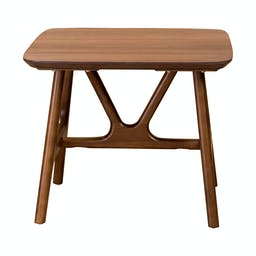 """Pemberly 24""""  Side Table  Brown"""