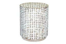 East Haven End Table White Wash