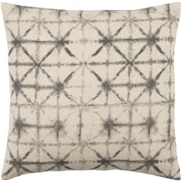 """Padgent Pillow Shell with Polyester Insert, Charcoal, 18""""x18"""""""