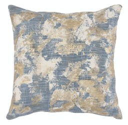 Kaelyn Embroidered Square Pillow Blue Multi