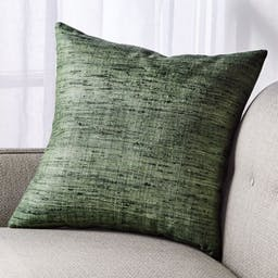 """Trevino Agave Green Pillow with Down-Alternative Insert 20"""""""