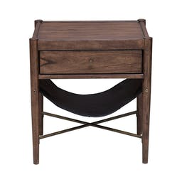 Andrew End Table Brown