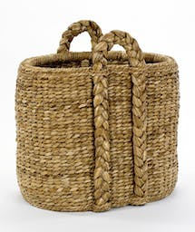 Georgetown Oval Hearth Basket Natural