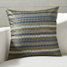 """Vespa Silk Pillow with Feather-Down Insert 18"""""""