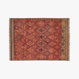 Indira Faded Red Rug 9'x12'