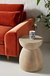 Betania Side Table, Neutral, Hourglass
