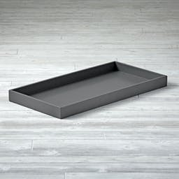Parke Charcoal Changing Table Topper