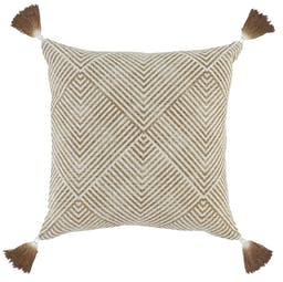 Adalyn Square Pillow  Toffee