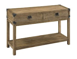 Maynard Two Drawer Console Table Natural
