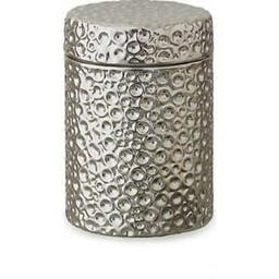 Moonscape Jar Candle Silver