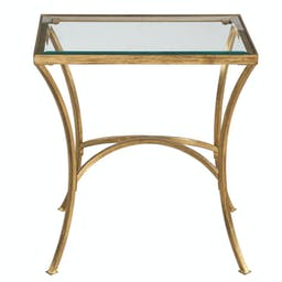 Alayna End Table Gold