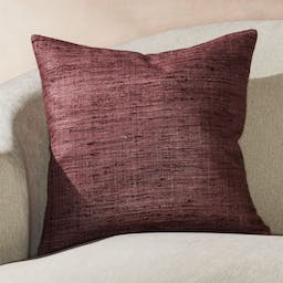 """Trevino Dusty Lavender Pillow with Feather-Down Insert 20"""""""