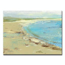 Vacations Canvas by Dana McMillan, 30 x 40 Blue