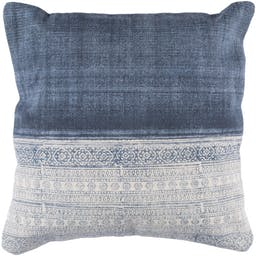 Hodges Pillow with Poly Insert Navy