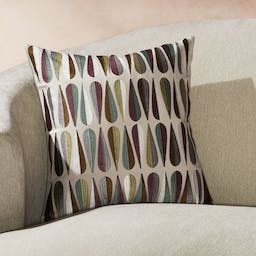 """Lavada Midcentury Pillow with Down-Alternative Insert 18"""""""