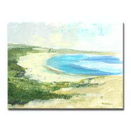 The Cove Canvas by Dana McMillan Green