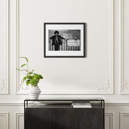 """Hendrix Montagu Place with Black Frame 25.5""""x21.5"""""""