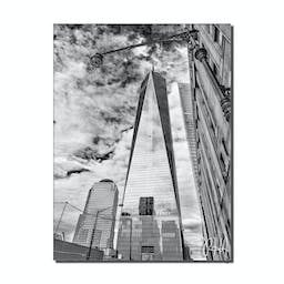 Bruce Bain Limitless Canvas Art, 40 x 30 Black and White
