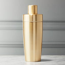 Neil Champagne Gold Cocktail Shaker