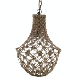 Alma Transitional Ceiling Light Wheat