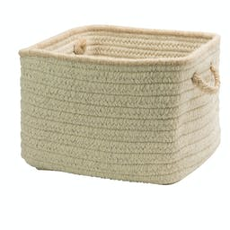Natural Style Square Basket Small Canvas